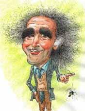 caricatura Vittorino Andreoli